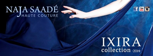 IXIRA 2014 collection by Naja Saade haute couture