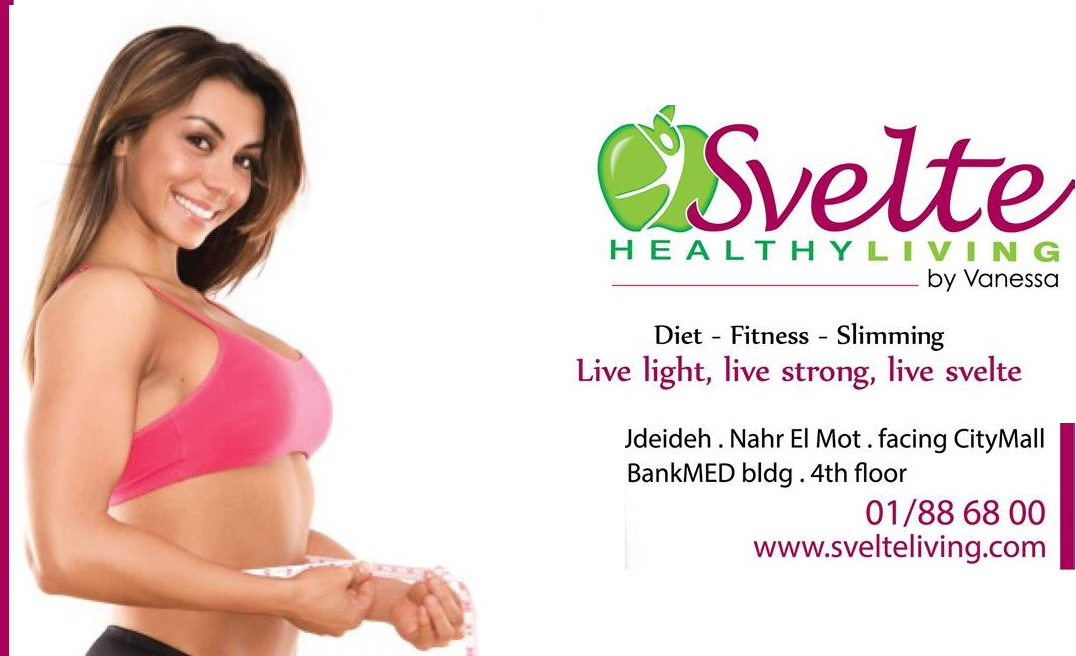 svelte healthy living by vanessa ghossoub lebanon